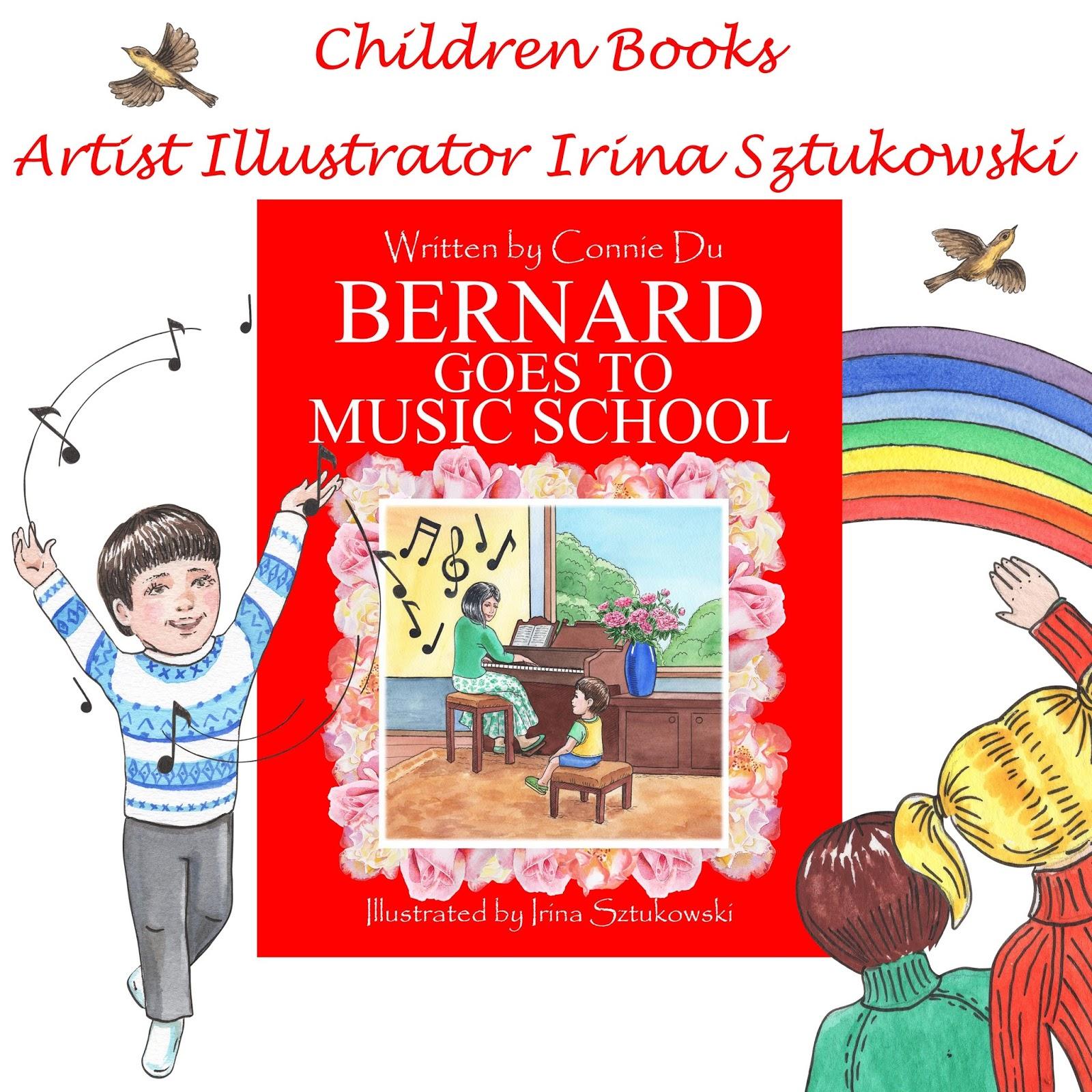 Watercolor books for kids - Children Books Illustrator Watercolor