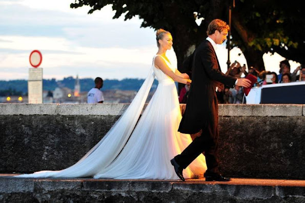 Pierre Casiraghi and Beatrice Borromeo wedding day