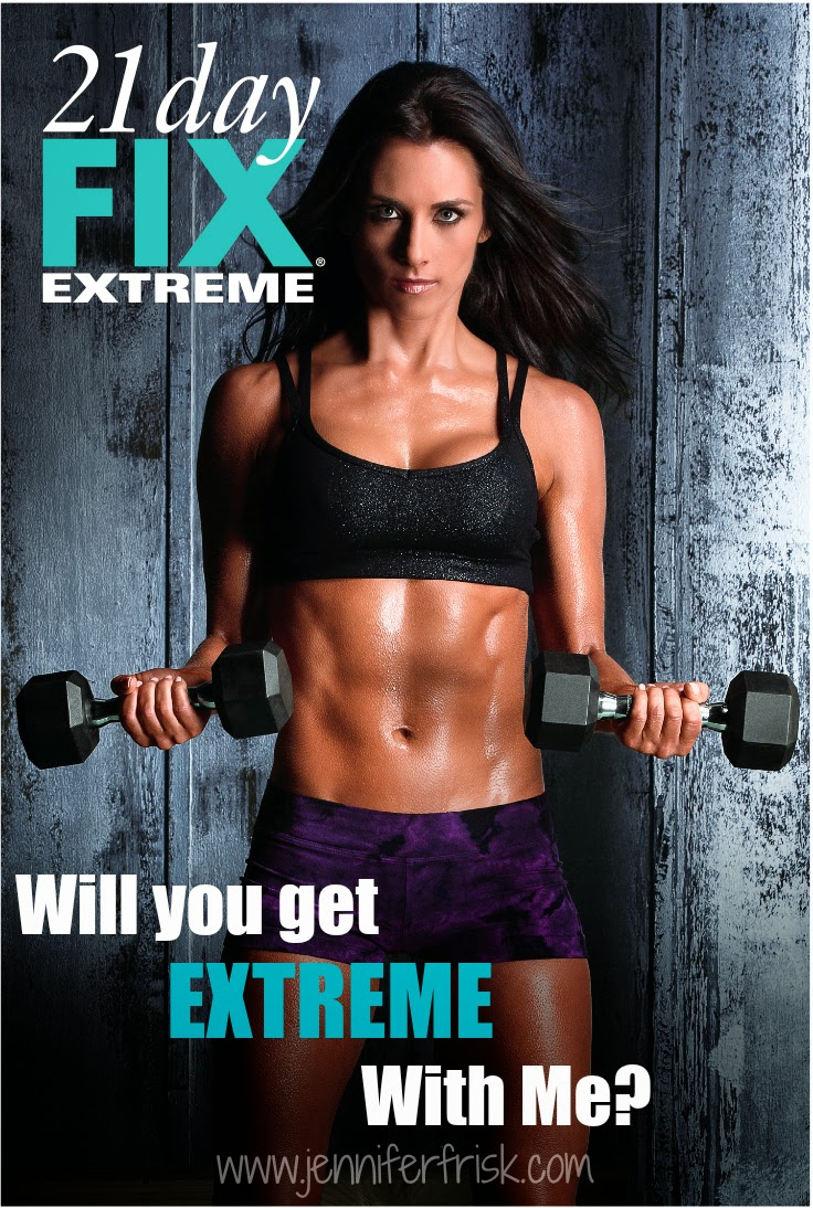 Get EXTREME with 21 Day Fix EXTREME and me!