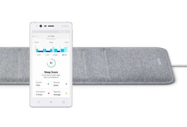 CES 2018: NOKIA Sleep pad introduced; Monitors sleep cycles, Tracks heart rate, Detects snoring and offers smart home control