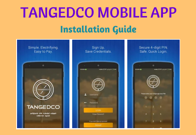 TANGEDCO Mobile App Official - Installation Guide