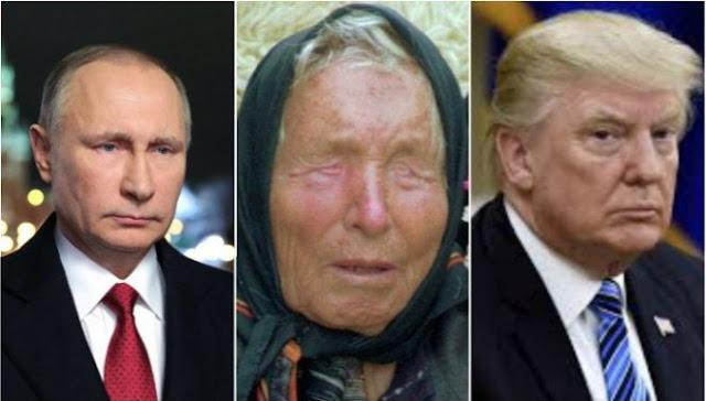 """""""Putin Dihabisi Pengawalnya, Trump Trauma Otak,"""" Ujar Nenek yang Pernah Ramal 911 dan ISIS"""