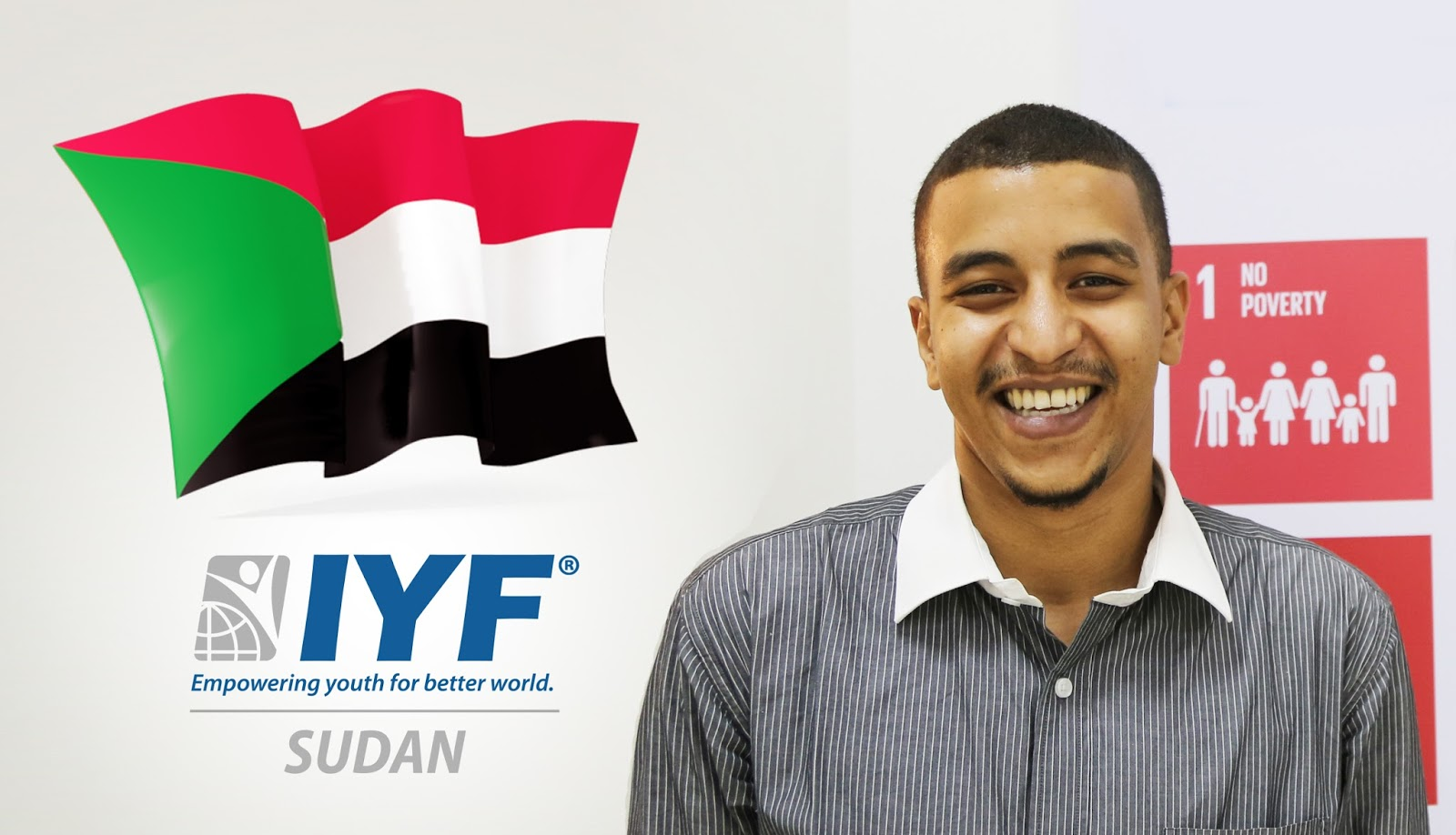 Mohamed Yousif, IYF Representative in Sudan
