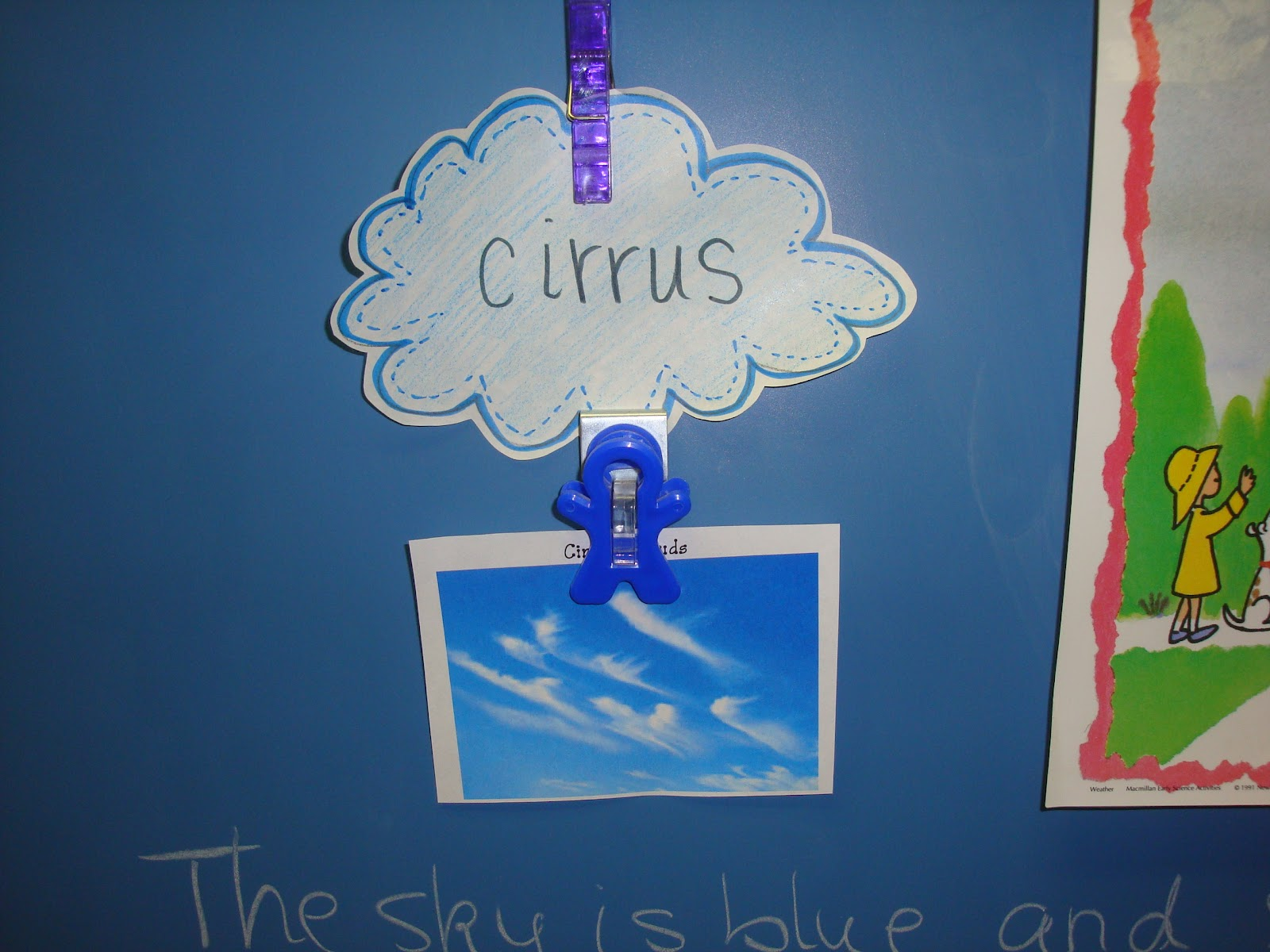 The Grade Three Jamboree Clouds Water Cycle And Wind