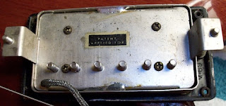 Gibson PAF Humbucker image from Bobby Owsinski's Big Picture production blog