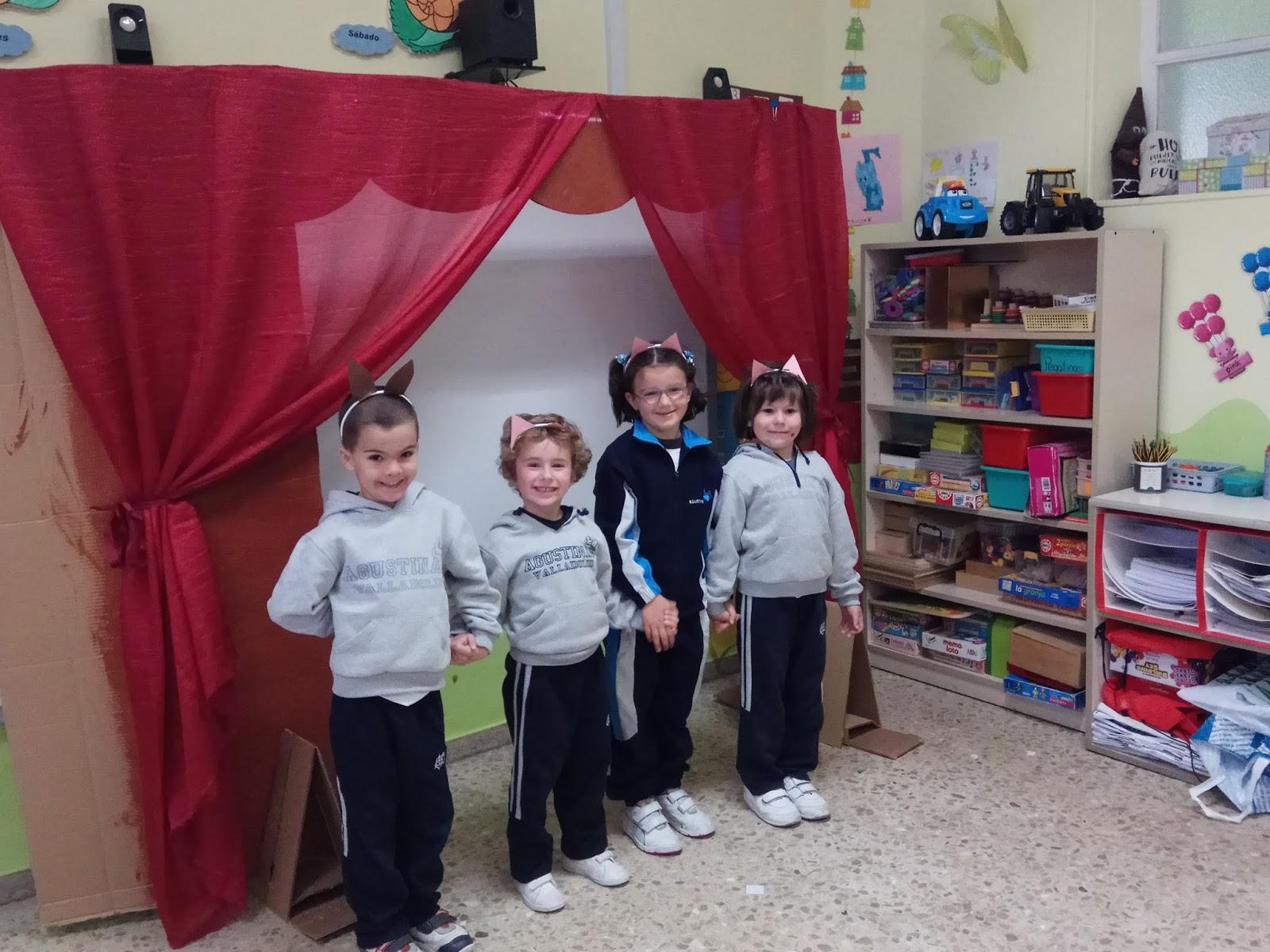 Agustinas Valladolid - 2017 - Infantil 4 - Teatro 2