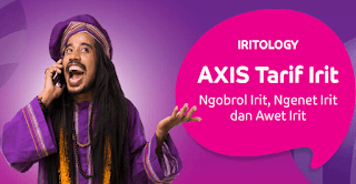 Tarif internet murah dari Axis
