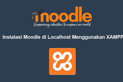 Cara Install Moodle di Localhost
