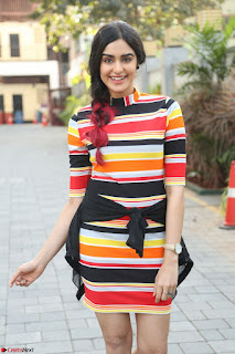 Adha Sharma in a Cute Colorful Jumpsuit Styled By Manasi Aggarwal Promoting movie Commando 2 (63).JPG