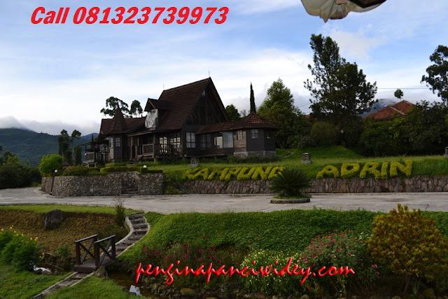 Booking villa di area wisata kawah putih dari wonosobo