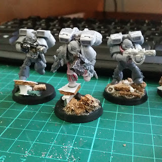 Ashen Circle Raptors converted for my Chaos Spacemarine Word Bearers army for warhammer 40000