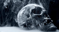 black monochrome skull wallpaper,darkness,scary
