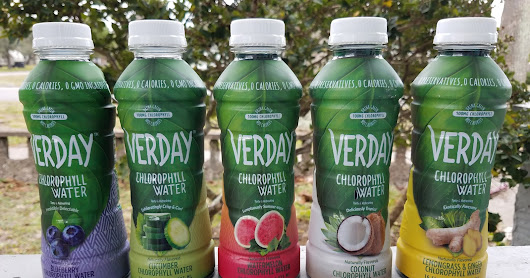 Stay Hydrated with Verday Chlorophyll Water!