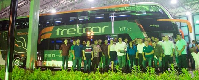 Ceará Diesel comemora junto a Comil vendas de rodoviários