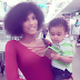 Solidstar shares photos of his babymama and son