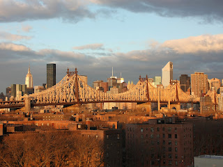 Queensboro Bridge, NYC, a great hill workout