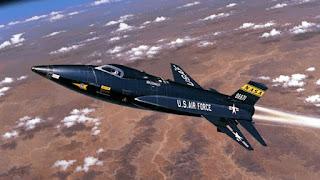 North American X-15 Rocket Jet on Innovative Future