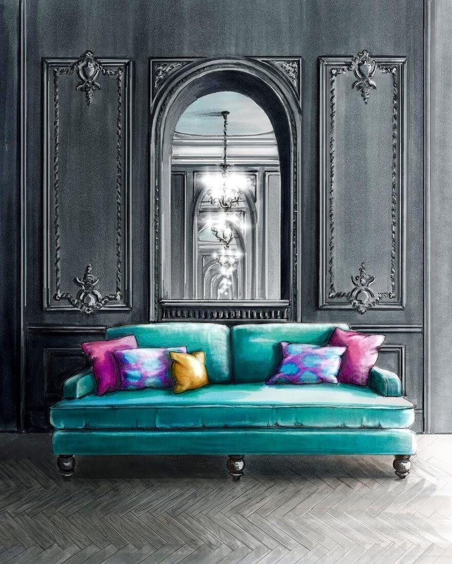 10-Palatial-look-Julia-Timireeva-Юлия-Тимиреева-Interior-Design-Drawings-that-Help-Visualise-www-designstack-co