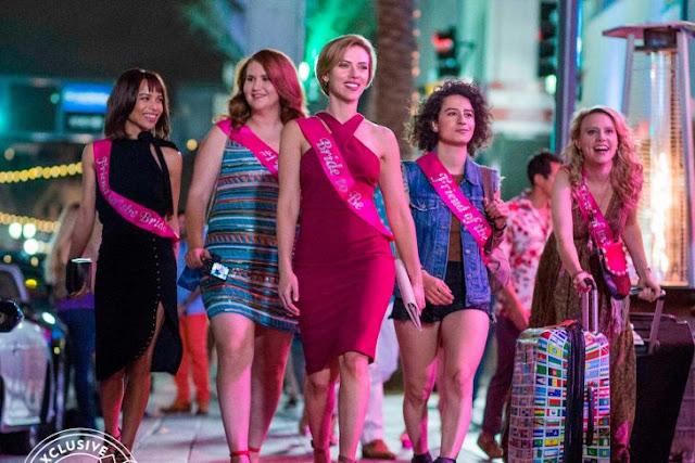 Scarlett Johansson protagoniza cinta tipo The Hangover