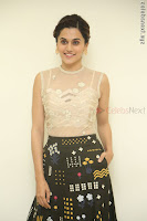 Taapsee Pannu in transparent top at Anando hma theatrical trailer launch ~  Exclusive 017.JPG