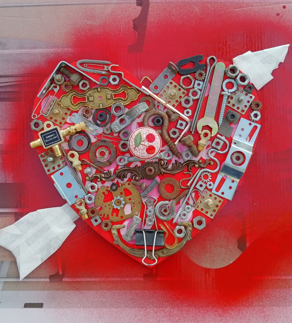 old hardware heart