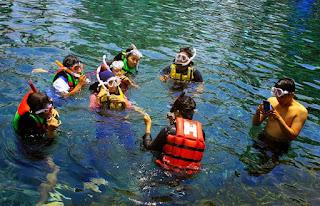 Tips Serunya Snorkeling di Obyek Wisata Umbul Ponggok