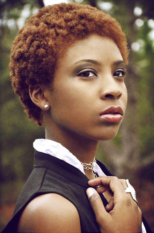 Peinados Para Pelo Afro Corto Mujer