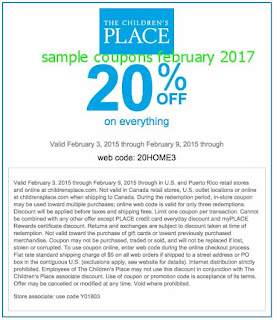 Never miss another coupon. Be the first to learn about new coupons and deals for popular brands like The Children's Place with the Coupon Sherpa weekly newsletters.