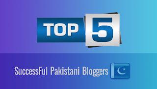 5 Successful Pakistani Bloggers