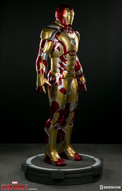 osw.zone Sideshow Collectibles to order Iron Man Mark 42 Life-size figure (2.1 m) of Iron Man 3