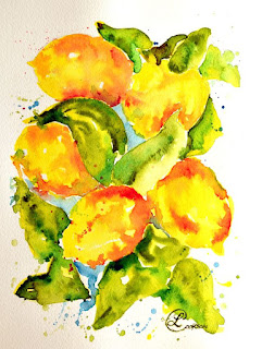 http://paintingsbylyndacookson.blogspot.fr/2016/05/rainwashed-lemons-by-lynda-cookson.html