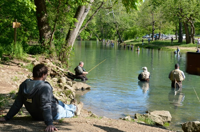 Weaver 39 s tackle store bennett spring fishing report 4 26 2012 for Best time to fish tomorrow