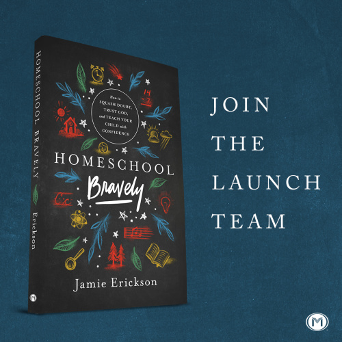 Join the Homeschool Bravely Launch Team #homeschool #homeschoolbravely