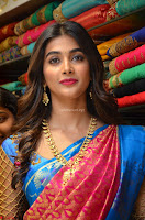 Puja Hegde looks stunning in Red saree at launch of Anutex shopping mall ~ Celebrities Galleries 045.JPG