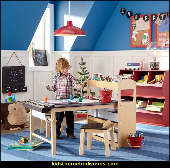 playrooms alphabet numbers decorating ideas - educational fun learning letters & numbers decor - abc 123 theme bedroom ideas - Alphabet room decor - Numbers room decor - Creative playrooms educational children bedrooms - Alphabet Nursery - Alphabet Wall Letters - primary color bedroom ideas - boys costumes - girls costumes pretend play - fun playroom furniture
