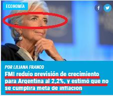 FMI, LA ARGENTINA