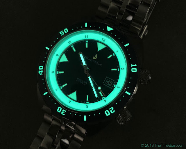 Prometheus Eagle Ray blue lume