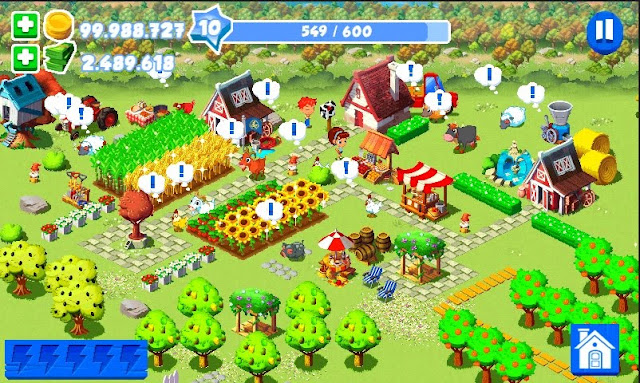 Tải Game Green Farm 3 MOD Tiền cho Android