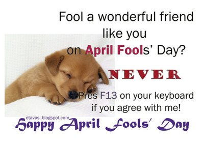 April fool day greeting cards