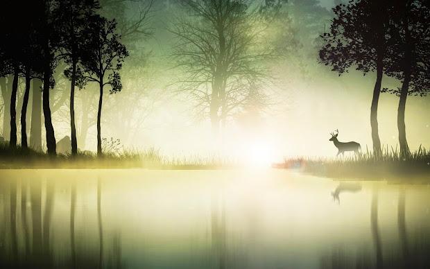 Mystical Forest Deer