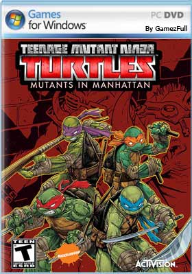 TMNT Mutants in Manhattan PC Full Español