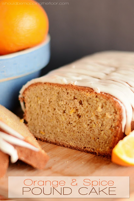orange spice pound cake recipe