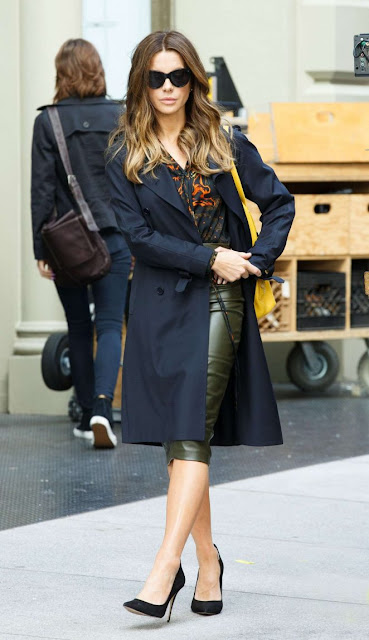 Kate Beckinsale on 'Only Living Boy' set in in Soho
