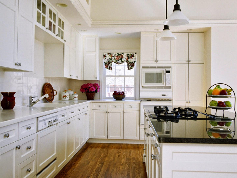 Gambar Dapur Minimalis Modern Interior Warna Putih