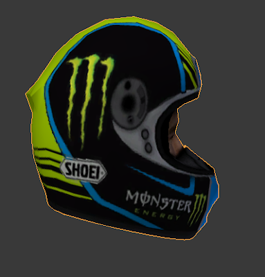 Mod Helm Fabio Quartararo For Career MotoGP13