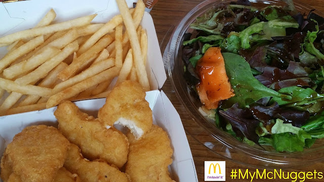 #MyMcNuggets French Fries McDonald's Salad Healthier Menu