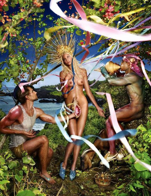 Rebirth of Venus, David LaChapelle (2009)