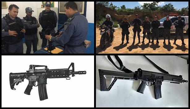 Chapadinha: Policiais Militares do 16º Batalhão participam de instruções teórica e prática com novos armamentos.