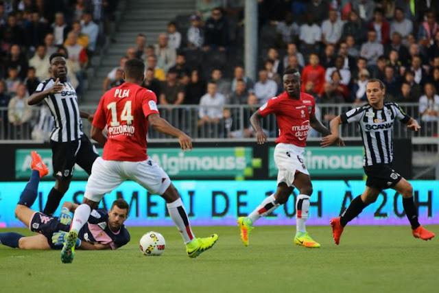 Pléa et Séri OGC Nice Ligue 1