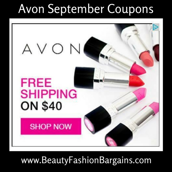 Avon Free Shipping Codes September 2017